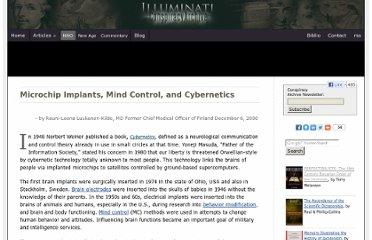 Mind Control Implants