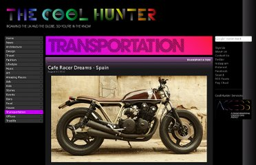 http://www.thecoolhunter.co.uk/transportation