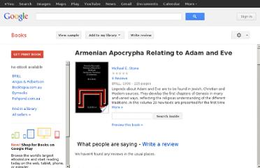 http://books.google.com.au/books/about/Armenian_Apocrypha_Relating_to_Adam_and.html?id=AllY-mu65KsC#v=onepage&q=maniton%20noah&f=false