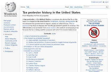 http://en.wikipedia.org/wiki/Tax_protester_history_in_the_United_States#Larken_Rose