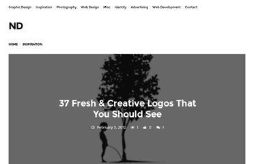 http://neatdesigns.net/37-fresh-creative-logos-that-you-should-see/