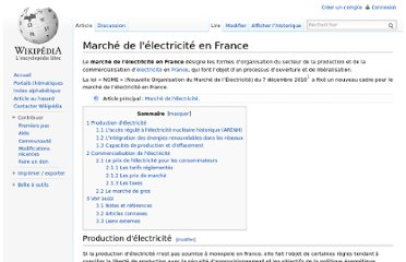 http://fr.wikipedia.org/wiki/March%C3%A9_de_l%27%C3%A9lectricit%C3%A9_en_France