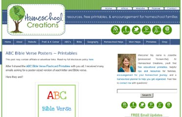 http://www.homeschoolcreations.net/category/10-days-series/teaching-gods-word/