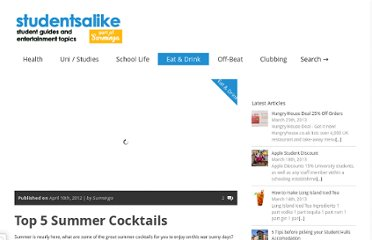 http://studentsalike.com/2012/04/10/top-5-summer-cocktails/
