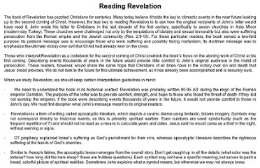 http://larryavisbrown.homestead.com/files/Christian_doctrine/Reading__Revelation.htm