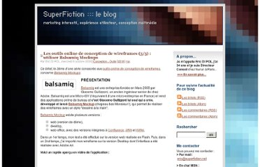 http://www.superfiction.net/blog/index.php?2008/10/08/318-les-outils-online-de-conception-de-wireframes-3-5-utiliser-balsamiq-mockups