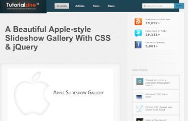 http://tutorialzine.com/2009/11/beautiful-apple-gallery-slideshow/