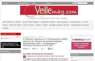 http://www.veillemag.com/L-Institut-superieur-de-l-E-Reputation-ISER-annonce-la-creation-du-premier-diplome-universitaire-DU-E-Reputation_a1924.html