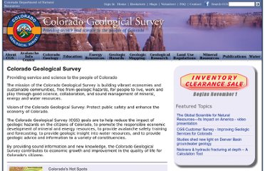 http://geosurvey.state.co.us/Pages/CGSHome.aspx