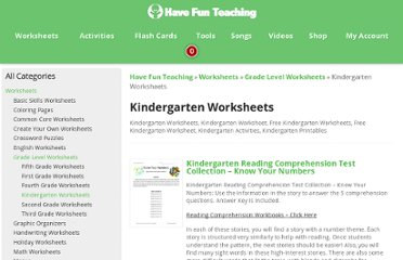 http://havefunteaching.com/worksheets/grade-level-worksheets/kindergarten-worksheets/