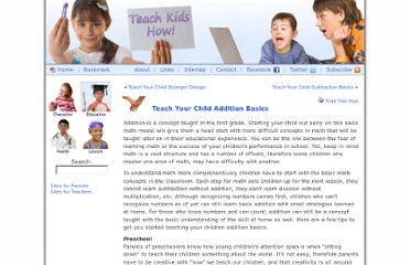 http://www.teachkidshow.com/teach-your-child-addition-basics/