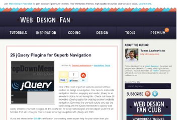 http://webdesignfan.com/26-jquery-plugins-for-superb-navigation/