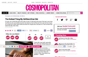 http://www.cosmopolitan.com/sex-love/tips-moves/the-hottest-thing-my-girlfriend-ever-did#slide-6