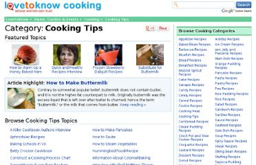 http://cooking.lovetoknow.com/cooking-tips
