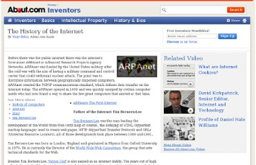 http://inventors.about.com/od/istartinventions/a/internet.htm