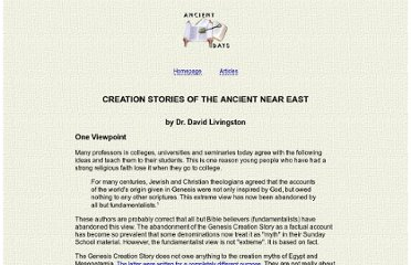 http://davelivingston.com/creationstories.htm