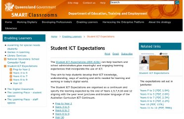 http://education.qld.gov.au/smartclassrooms/enabling-learners/ict-expectations/index.html