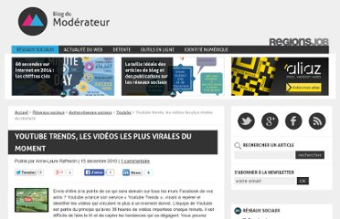 http://www.blogdumoderateur.com/youtube-trends-les-videos-les-plus-virales-du-moment/