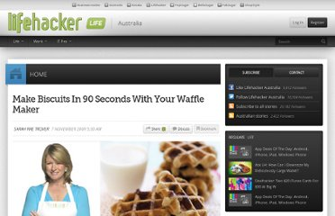 http://www.lifehacker.com.au/2009/11/make-biscuits-in-90-seconds-with-your-waffle-maker/