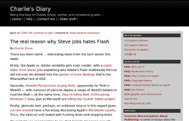 http://www.antipope.org/charlie/blog-static/2010/04/why-steve-jobs-hates-flash.html