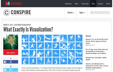 http://blog.mindjet.com/2012/03/what-exactly-is-visualization/