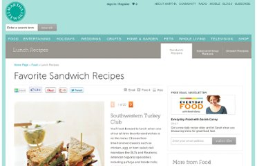 http://www.marthastewart.com/853635/favorite-sandwich-recipes