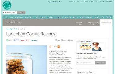 http://www.marthastewart.com/853322/lunchbox-cookie-recipes