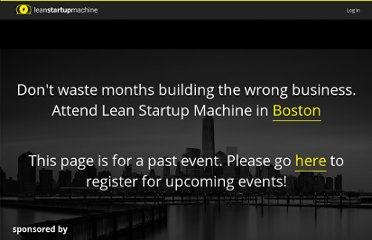 http://leanstartupmachine.com/events/boston-june-15-17/
