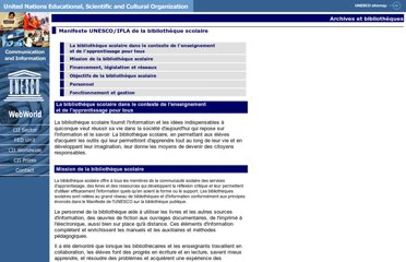 http://www.unesco.org/webworld/libraries/manifestos/school_manifesto_fr.html