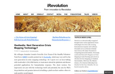 http://irevolution.net/2012/06/03/geofeedia-for-crisis-mapping/
