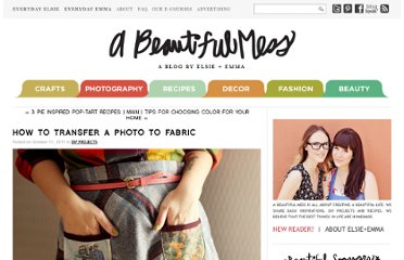 http://abeautifulmess.typepad.com/my_weblog/2011/10/how-to-transfer-a-photo-to-fabric.html/