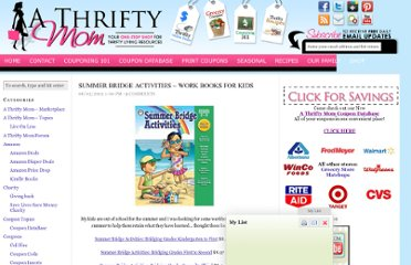 http://athriftymom.com/summer-bridge-activities-work-books-for-kids/