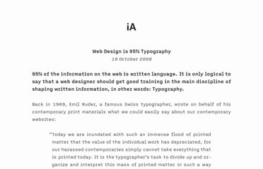 http://informationarchitects.net/blog/the-web-is-all-about-typography-period/