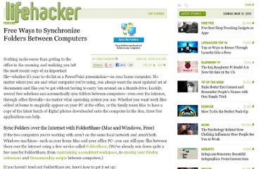 http://lifehacker.com/372175/free-ways-to-synchronize-folders-between-computers