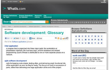 http://whatis.techtarget.com/reference/Software-development-Glossary