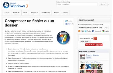 http://astuces-windows7.blogspot.com/2012/06/compresser-un-fichier-ou-un-dossier.html