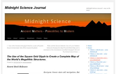 http://www.midnightsciencejournal.com/2012/01/02/the-use-of-the-square-grid-glyph-to-create-a-complete-world-map-of-megalithic-structures/