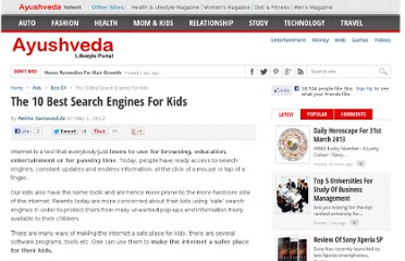 http://www.ayushveda.com/the-10-best-search-engines-for-kids/