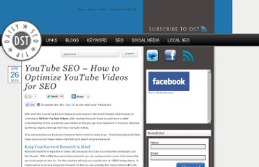 http://dailyseotip.com/youtube-seo-%e2%80%93-how-to-optimize-youtube-videos-for-seo/786/