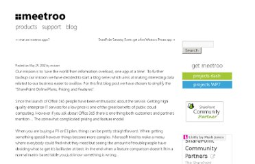 http://www.meetroo.com/the-simplification-of-sharepoint-online-plans-pricing-and-features