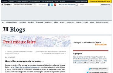 http://lemonde-educ.blog.lemonde.fr/2012/06/04/quand-les-enseignants-innovent/