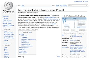 http://en.wikipedia.org/wiki/International_Music_Score_Library_Project#External_links