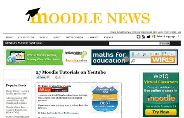 http://www.moodlenews.com/2012/27-moodle-tutorials-on-youtube/