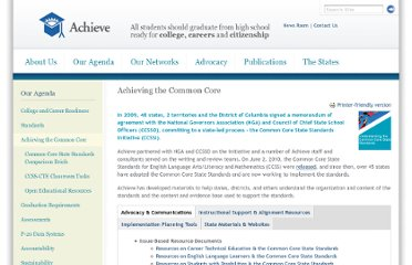 http://www.achieve.org/achieving-common-core
