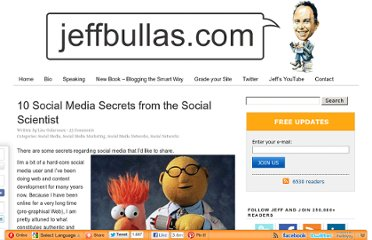 http://www.jeffbullas.com/2012/06/05/10-social-media-secrets-from-the-social-scientist/