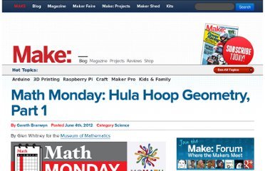 http://blog.makezine.com/2012/06/04/math-monday-hula-hoop-geometry-part-1/