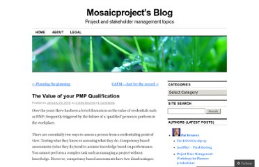 http://mosaicprojects.wordpress.com/2010/01/29/the-value-of-your-pmp-qualification/