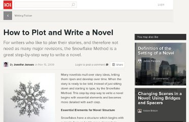 http://suite101.com/article/how-to-plot-and-write-a-novel-a78629