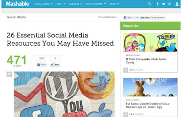 http://mashable.com/2010/05/01/essential-social-media-resources-2/