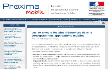 http://www.proximamobile.fr/article/10-erreurs-frequentes-dans-la-conception-des-applications-mobiles